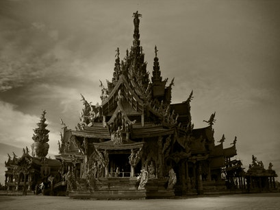 The Sanctuary Of Truth 真理圣殿 Pattaya  Thailand