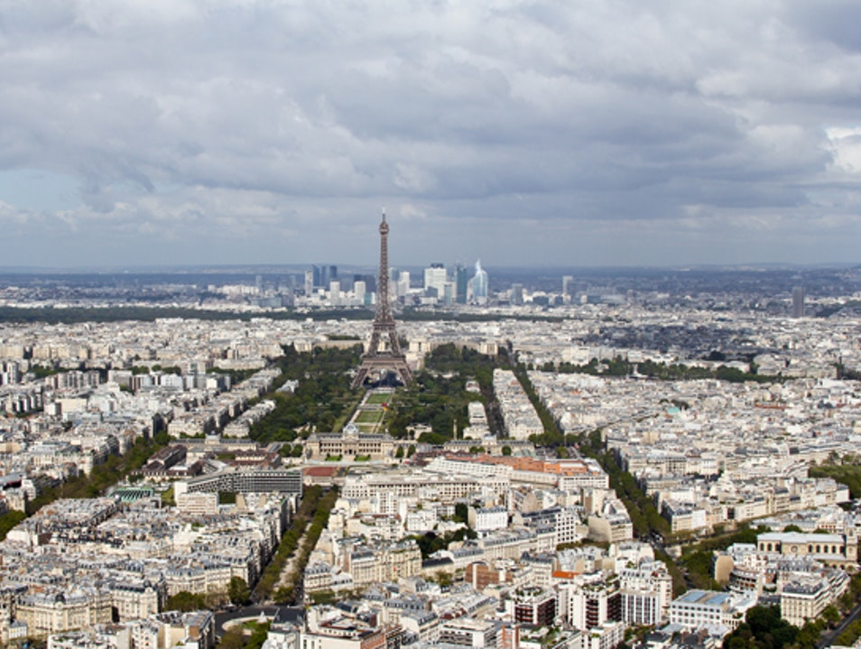 The Best View in Paris  Paris  France
