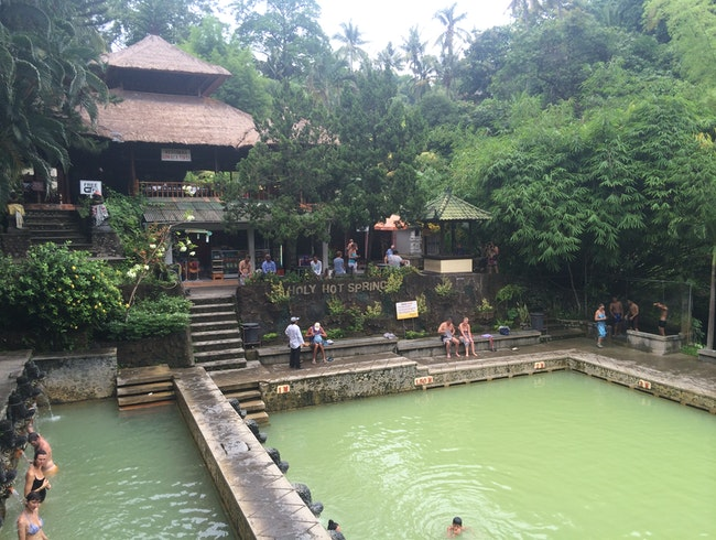 Bathing in Bali's Holy Hot Springs