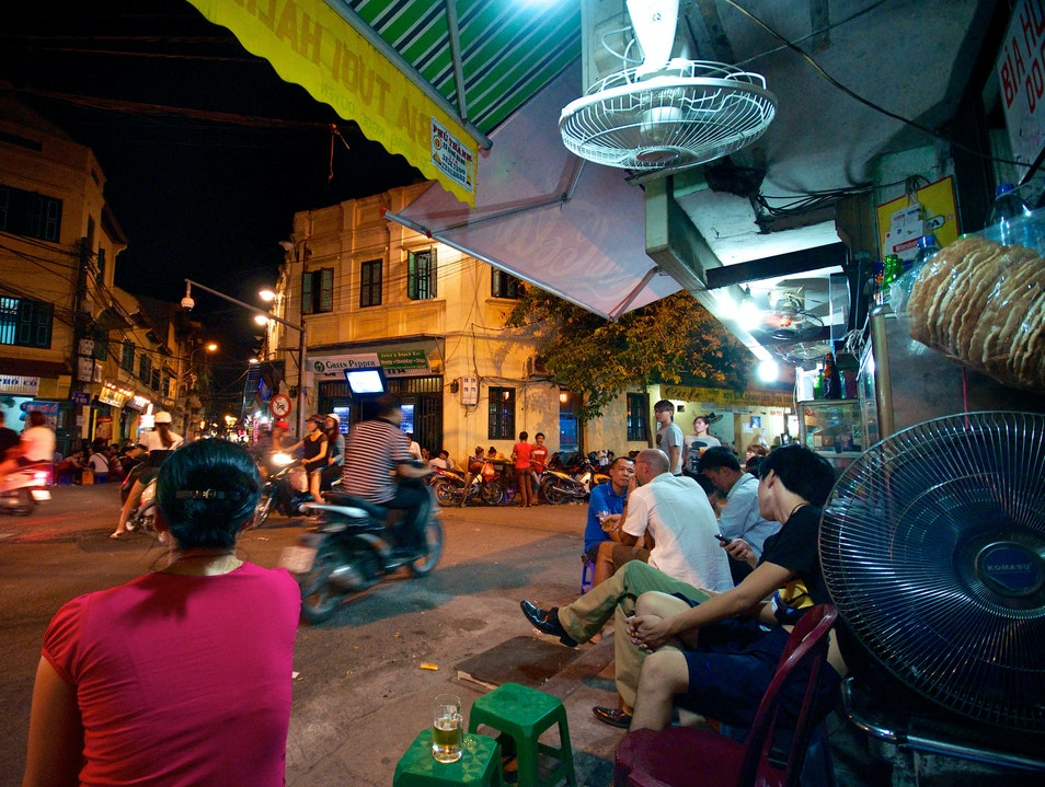Drink with the Locals at a Bia Hoi Hanoi  Vietnam
