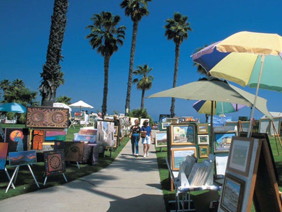 Beachfront Art Santa Barbara California United States