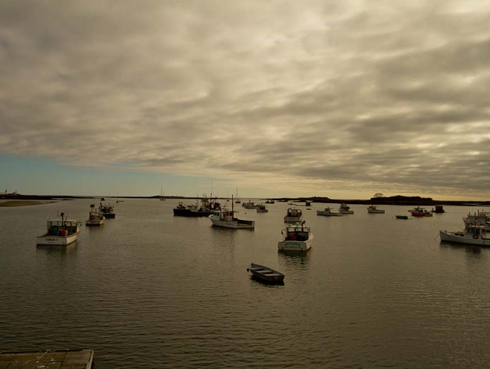 Cape Porpoise Harbor Kennebunkport Maine United States