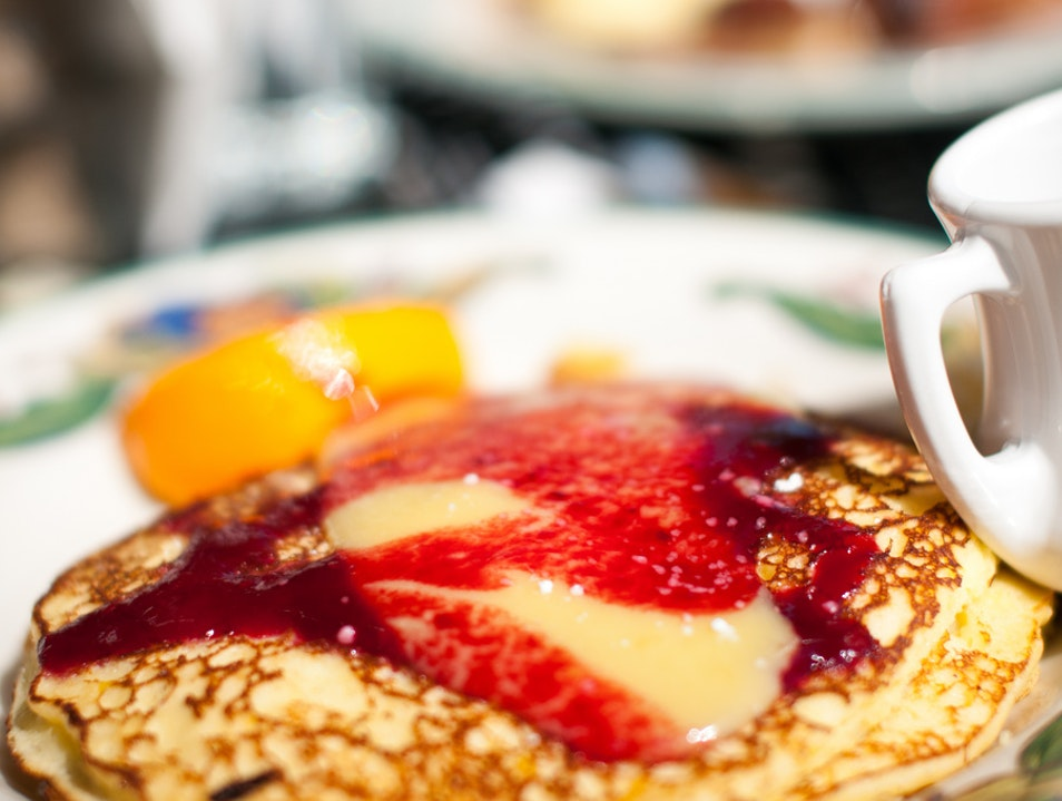 Lemon Ricotta Pancakes at Sarabeth's Key West Florida United States