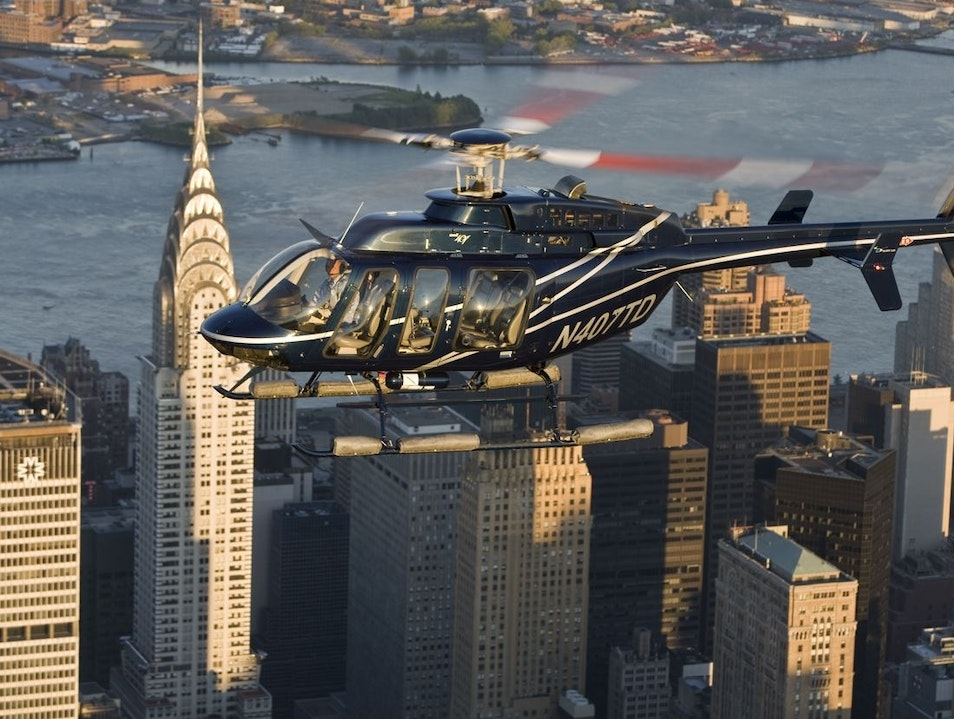 Helicopter Tour of New York City  New York New York United States