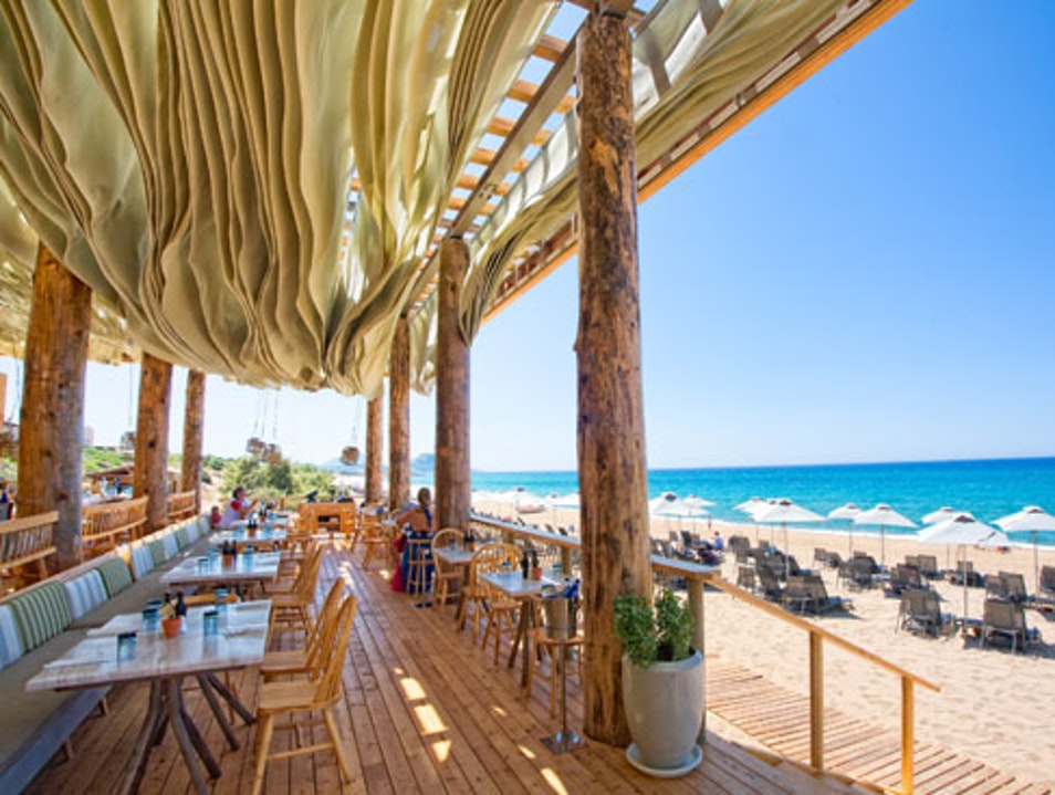 A Delicious Waterfront Meal at Barbouni Restaurant Costa Navarino  Greece