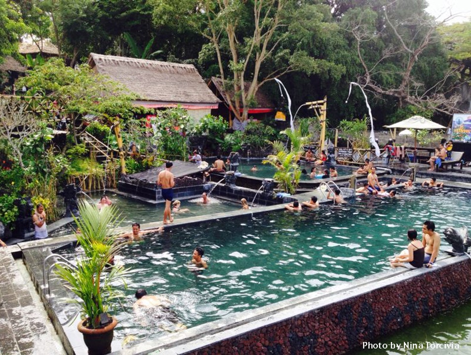 Take a Soothing Soak in Batur's Hot Springs Baturiti  Indonesia