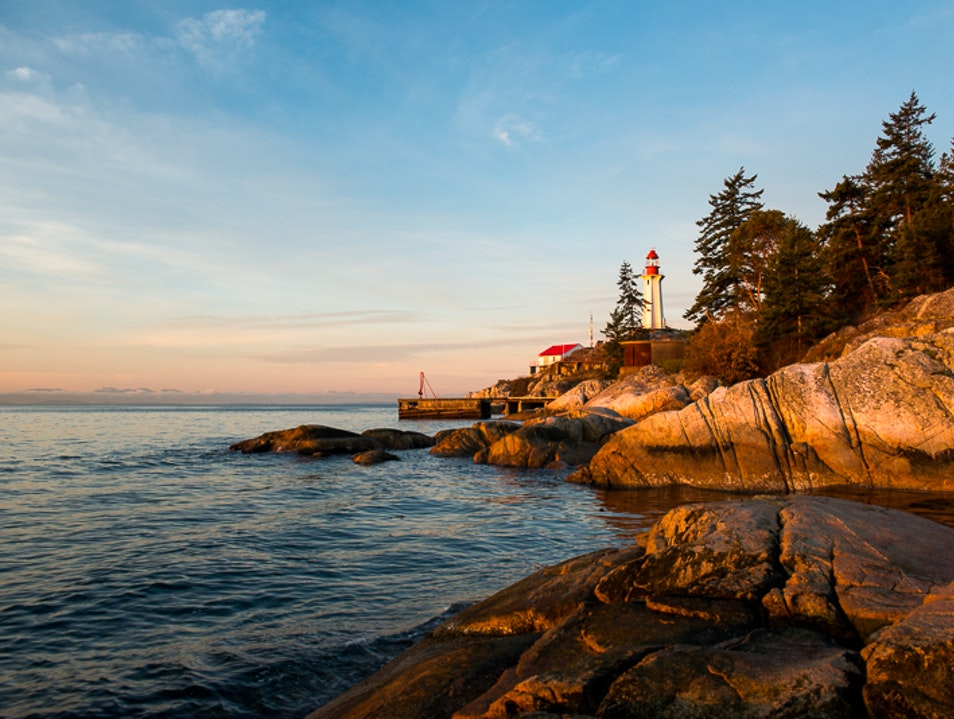 Explore Lighthouse Park Vancouver  Canada
