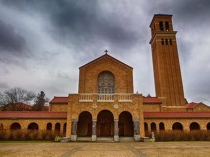 Mount Angel Abbey and Seminary Saint Benedict Oregon United States