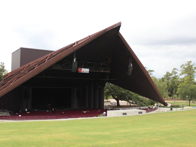Enjoy an Outdoor Concert or Play at Houston's Miller Outdoor Theatre