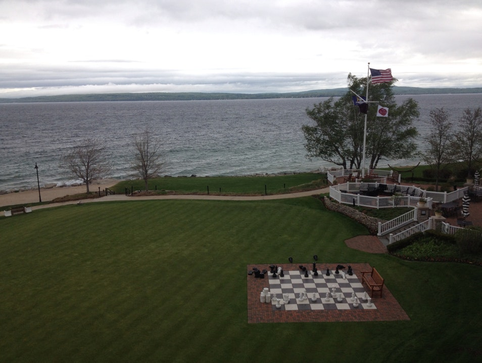 Lake Michigan Views Petoskey Michigan United States