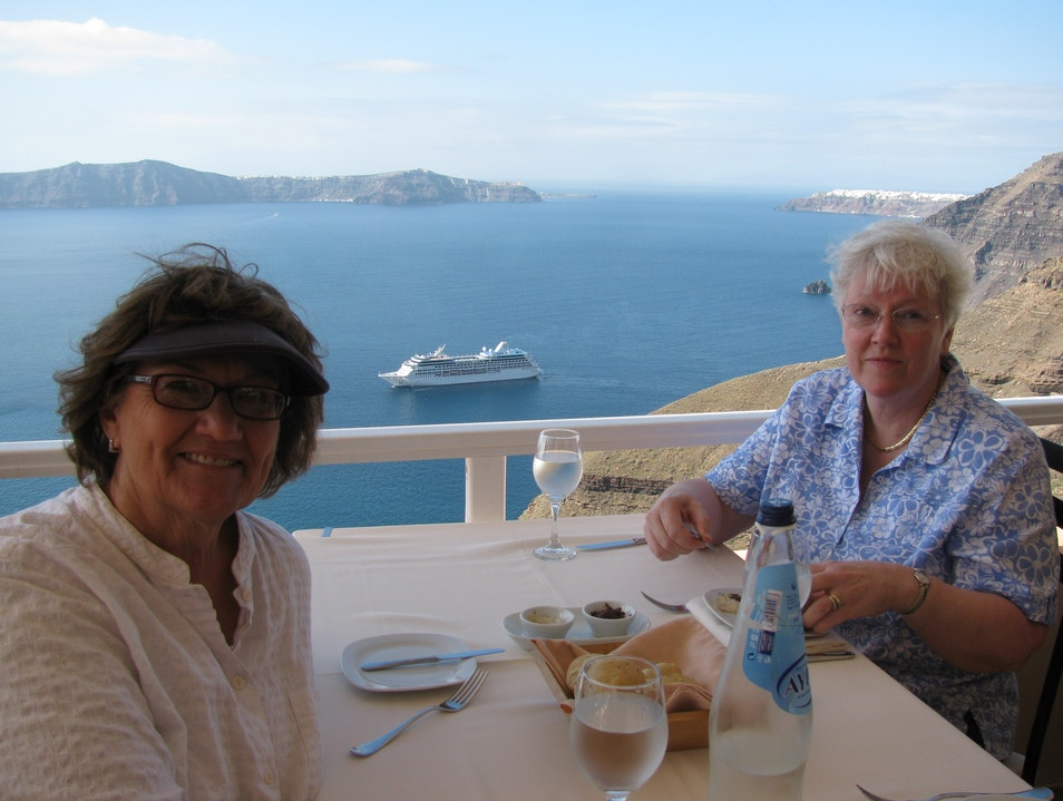 Ladies Who Lunch Thira  Greece