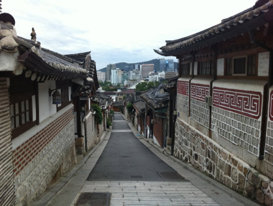 Sipping Ancient Alcohol in Bukchon Hanok Village Seoul  South Korea