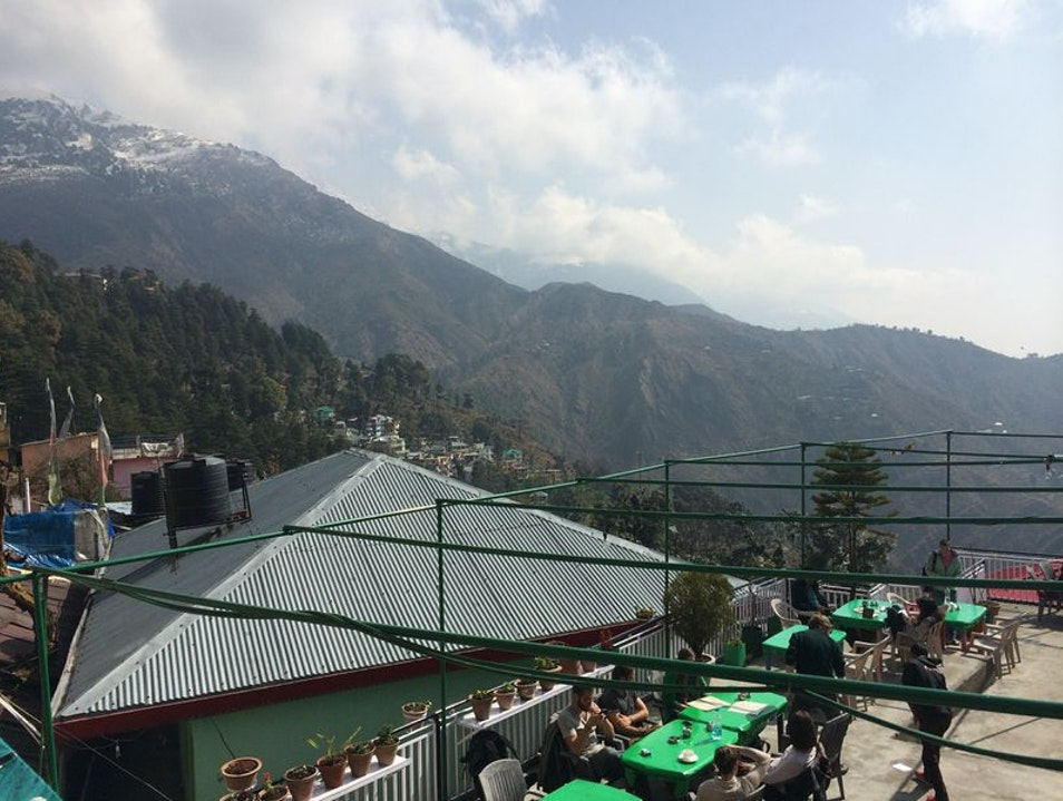 Momo with a view Dharamsala  India