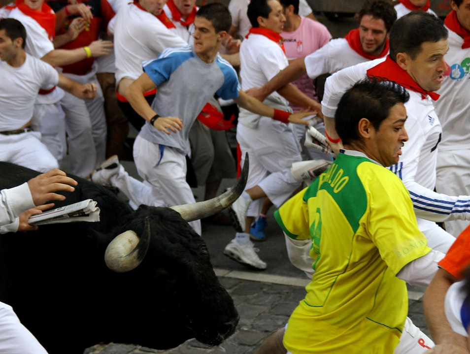 Run for Your Life, With the Bulls! Pamplona  Spain