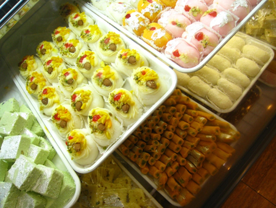 Sweet Treats at Karachi Bakery Hyderabad  India