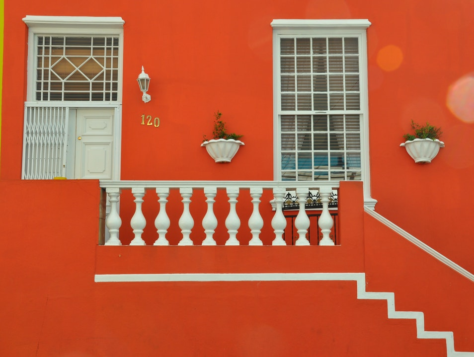 Shapes and Colours - Bo Kaap Cape Town  South Africa