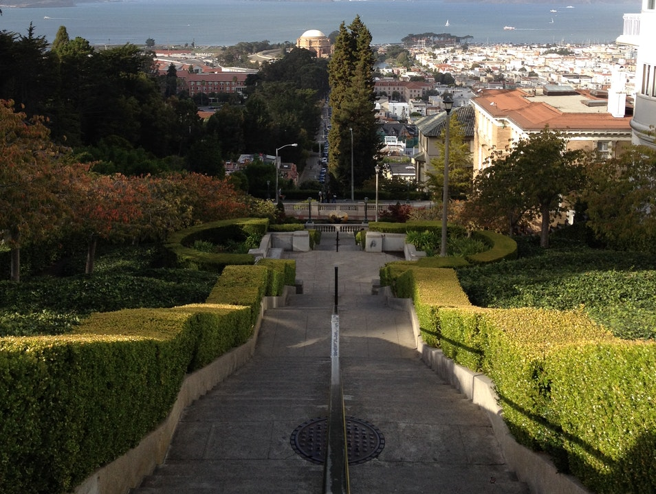 Lyon Street Steps - A Local's Secret San Francisco California United States