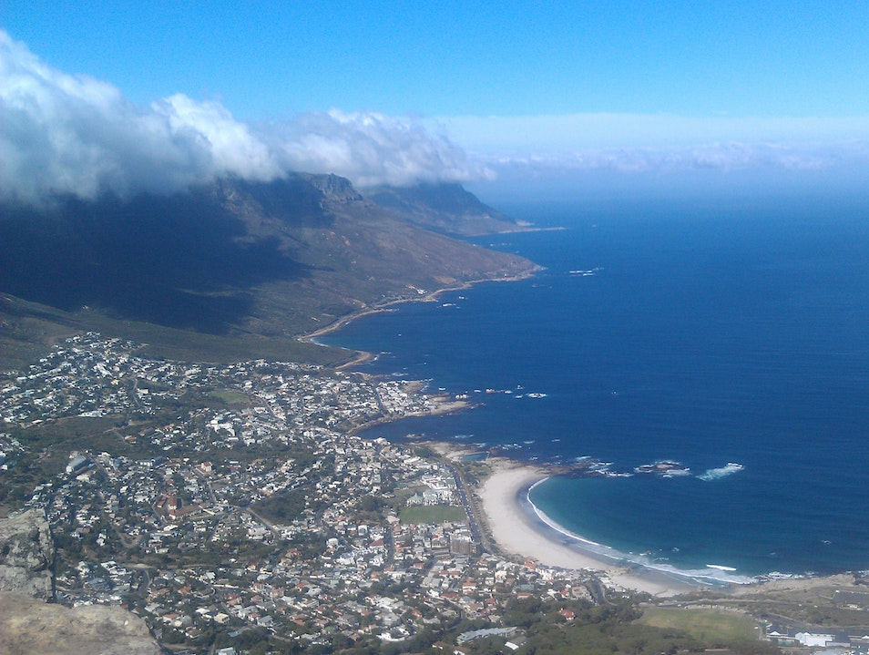 The 360 Degree View from Lion's Head Cape Town  South Africa