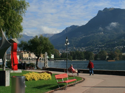 Belvedere Sculpture Garden Lugano  Switzerland