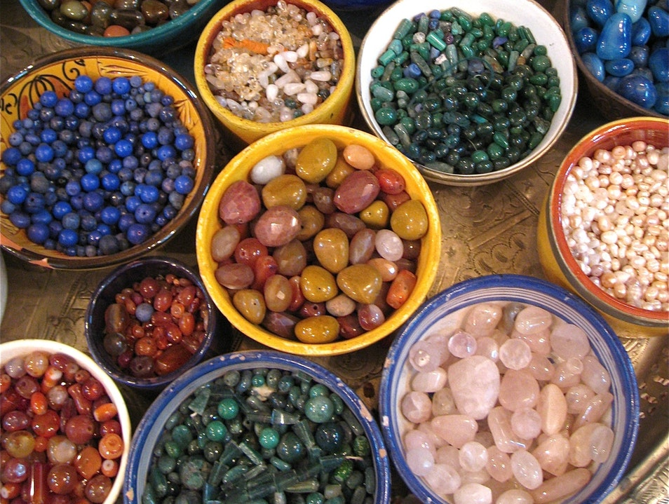 All That Glitters at a Marrakech Bazaar Marrakech  Morocco