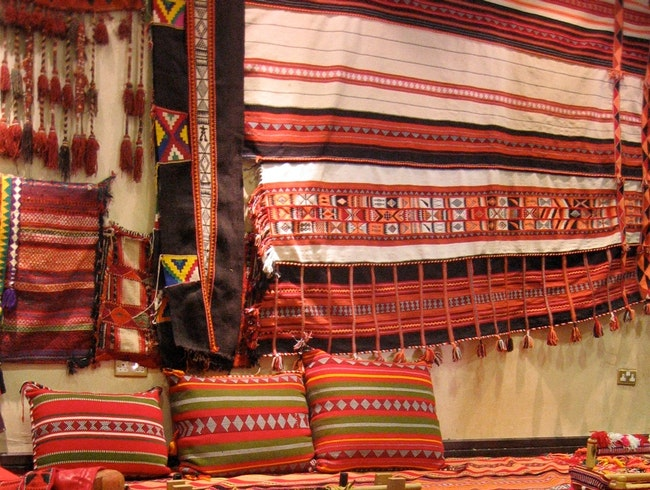 Take Home Vibrant Bedouin Textiles