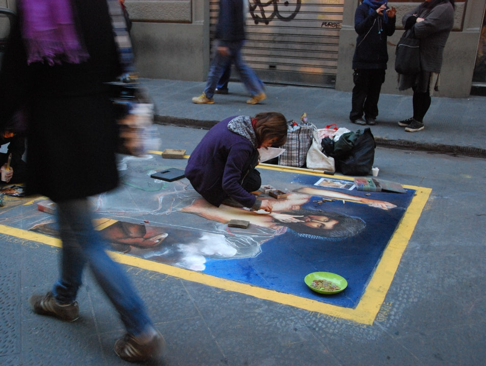 Street Artists: Story Behind Florence  Italy
