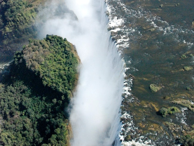 The View from Victoria Falls