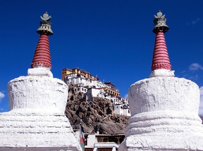 Thikse Gompa   Earth