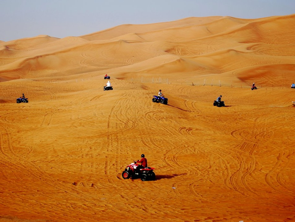 Quad Biking in the Sinai Desert
