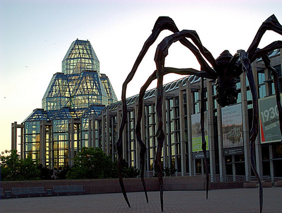 Exquisite Canadian Art at the National Gallery Ottawa  Canada