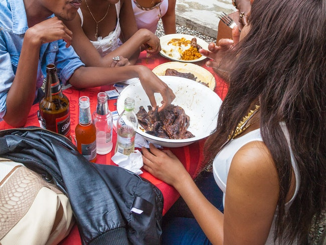 Eating Out in Soweto: Traditional South African Shisa Nyama at Chaf-Pozi