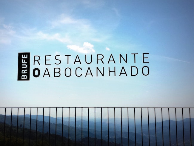 O Abocanhado: lunch with a view near Braga, Portugal