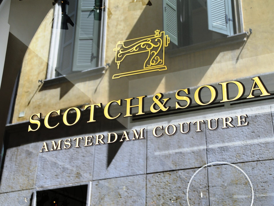 """Scotch & Soda"" Verona  Italy"