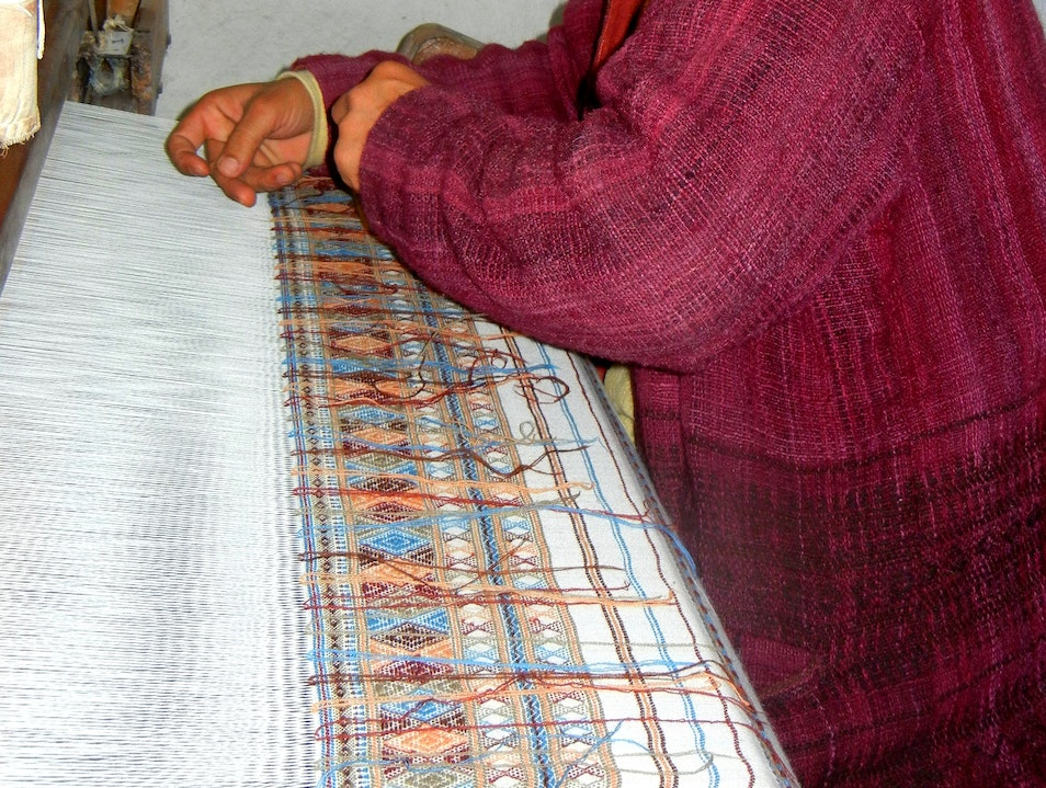 Hand woven textiles of India's desert people