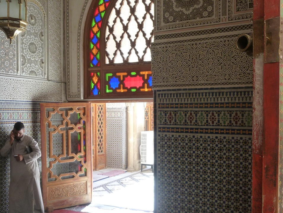 "Glimpses of ""Salat"" in the Fes Medina, Morocco Fes  Morocco"
