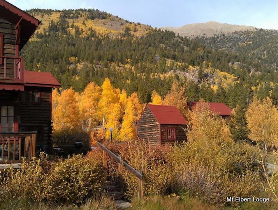 Incredible Fall Color Twin Lakes Colorado United States