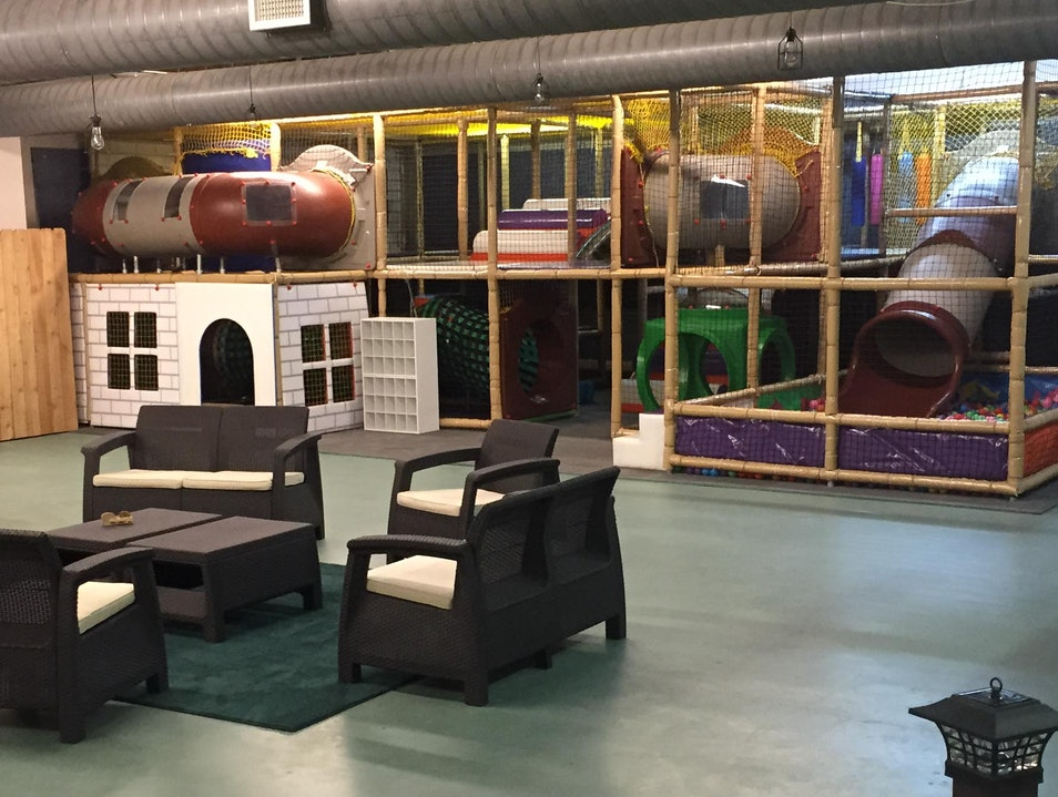 Fun Indoor Playground for the Little Ones!