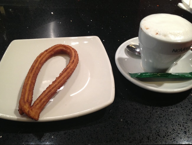 Breakfast of Champions in Madrid