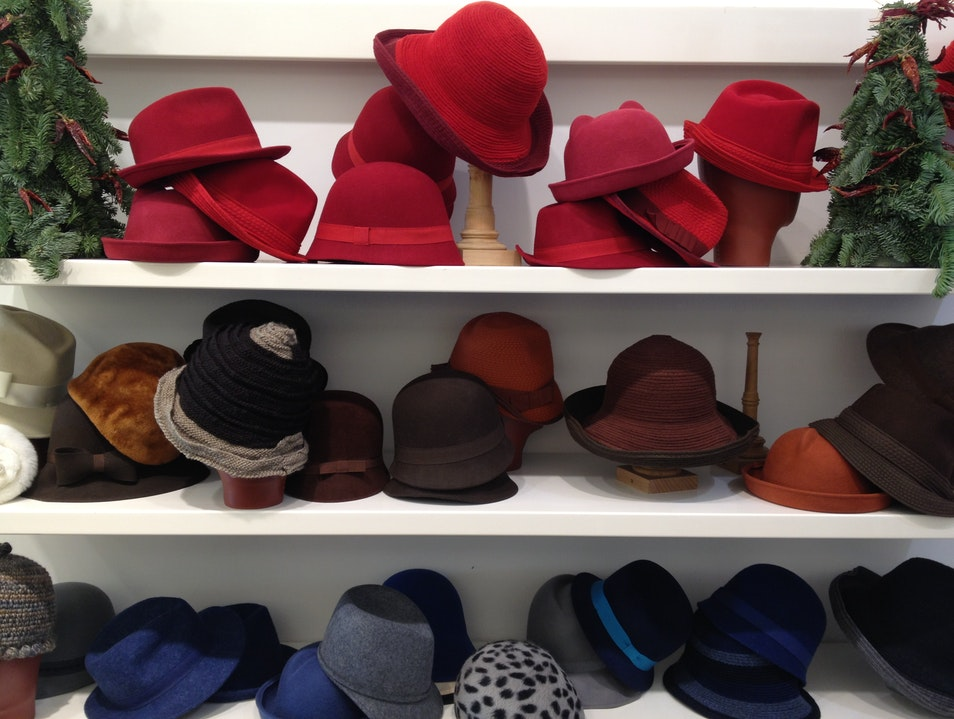 Cinzia's Hats Florence  Italy