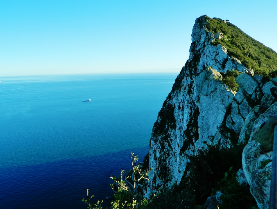 View from the Rock Gibraltar  Gibraltar