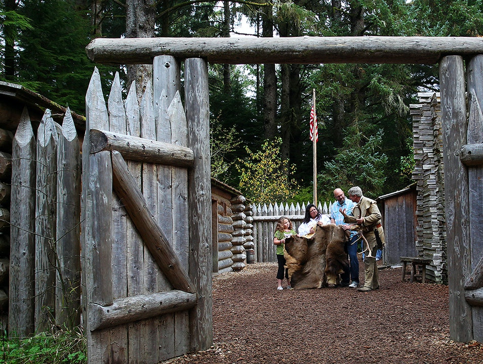 Fort Clatsop, Lewis and Clark National Historical Park Astoria Oregon United States