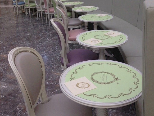 Laduree at Charles De Gaulle Airport  Paris