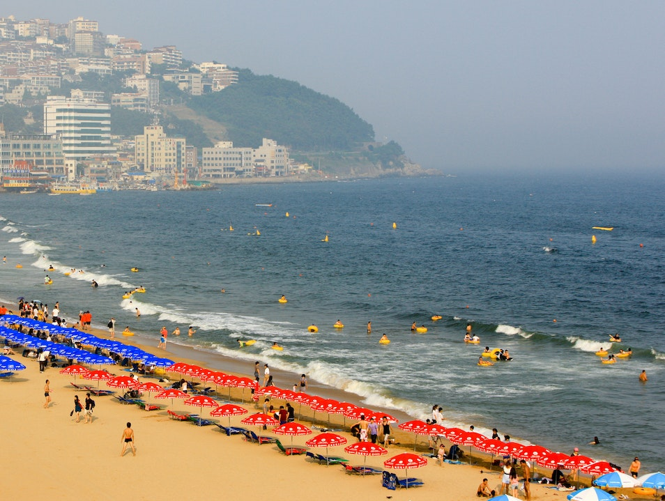 Haeundae Beach Busan  South Korea