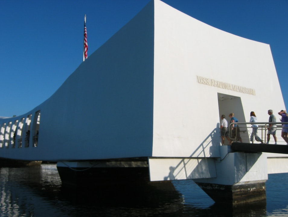 Amazing and emotional visit to the USS Arizona Honolulu Hawaii United States