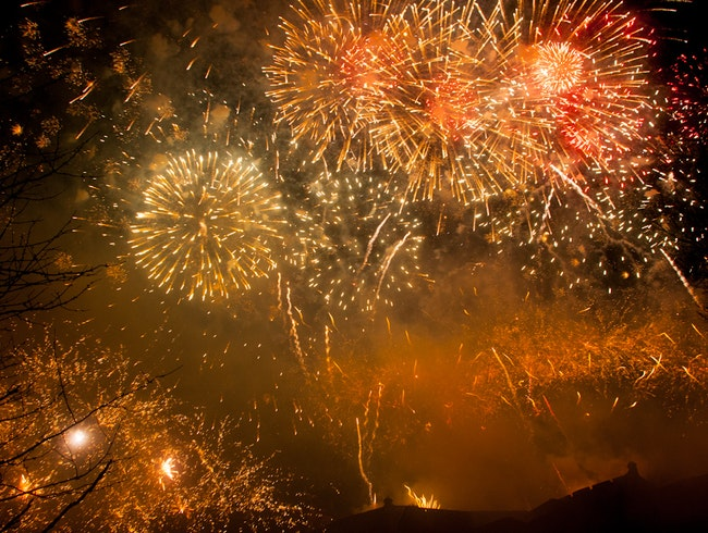 New Year's Eve at Edinburgh's Hogmanay