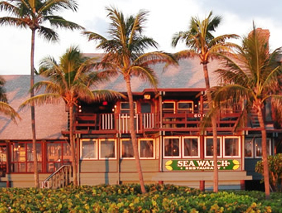 Tranquil Beach Dining on Famous Ocean Avenue Fort Lauderdale Florida United States