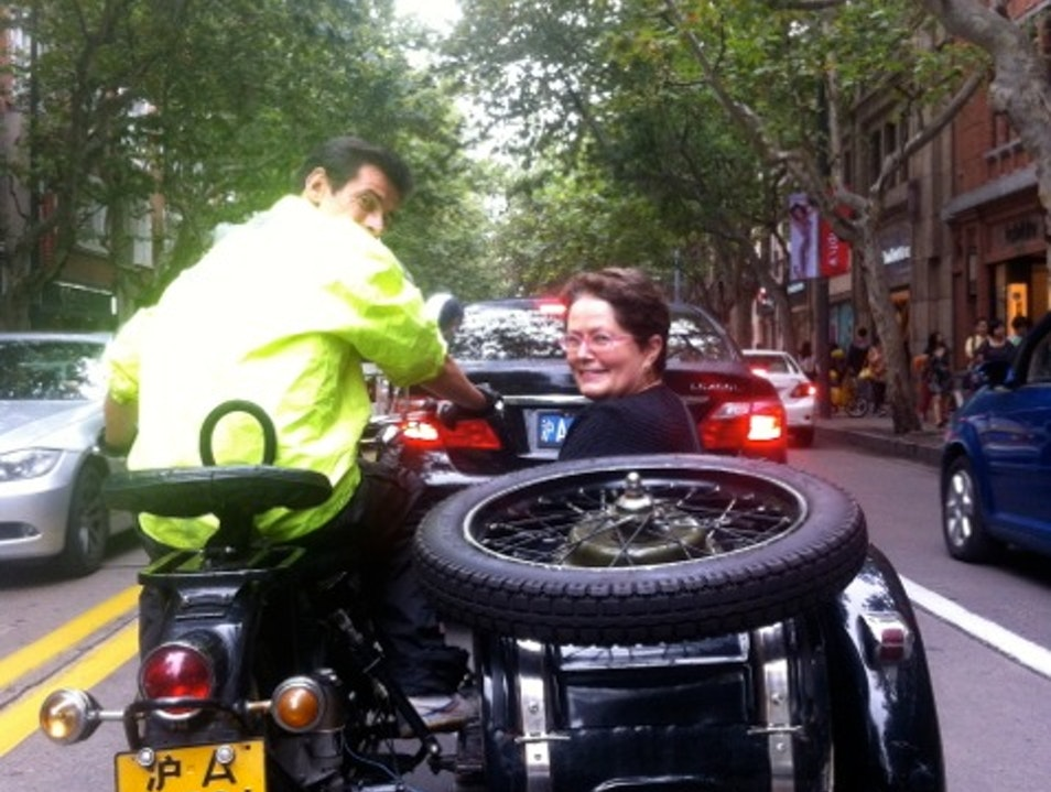 Riding the Sidecar with Shanghai Insiders Shanghai  China