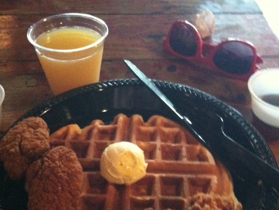 Hungover Brunch on King Street Charleston South Carolina United States