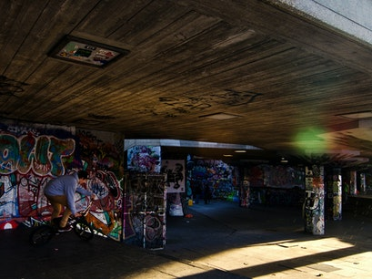 Southbank Skate Park London  United Kingdom