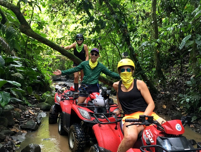 Power Wheels Adventure - ATV Through The Jungle